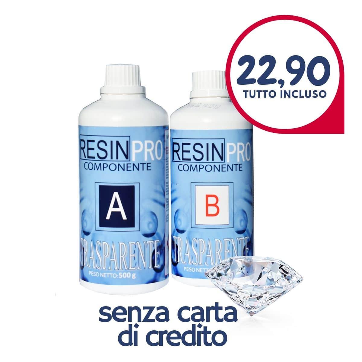 OFFERTA La resina epossidica trasparente atossica 22,90 EUR