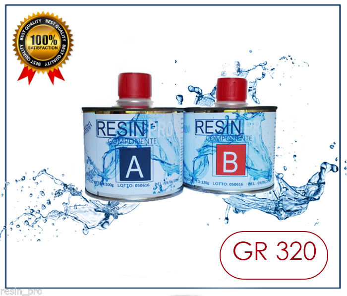 RESINA LIQUIDISSIMA GR 320