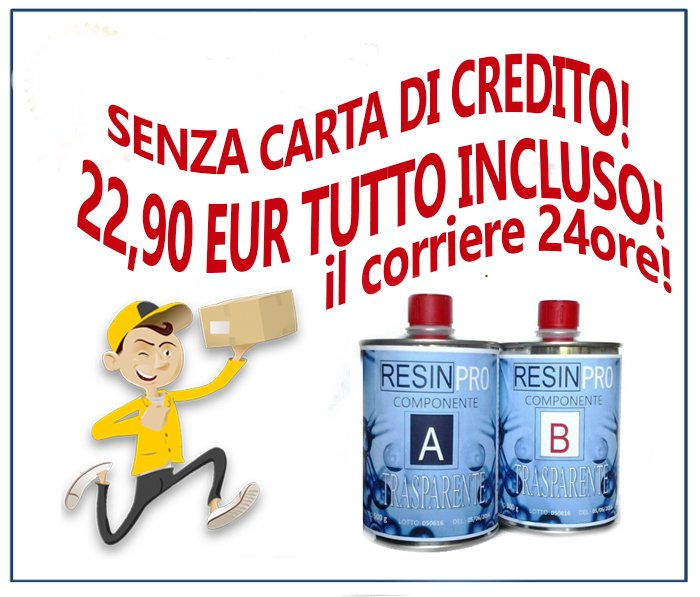 OFFERTA LA RESINA 22,90 EUR