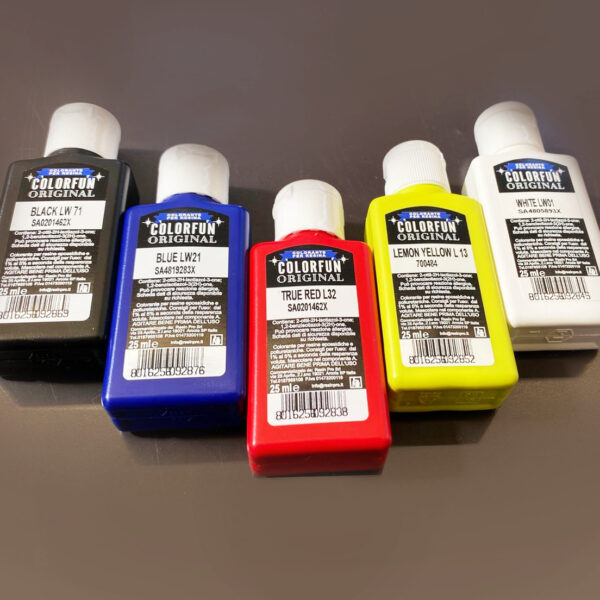SET LE PASTE COLORANTI 5 x 25 ML