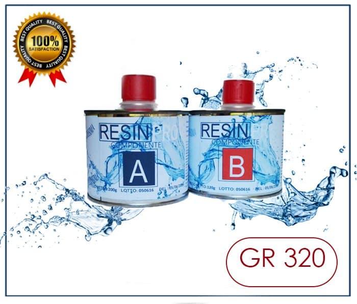 SET RESINA GR 800 + GR 320
