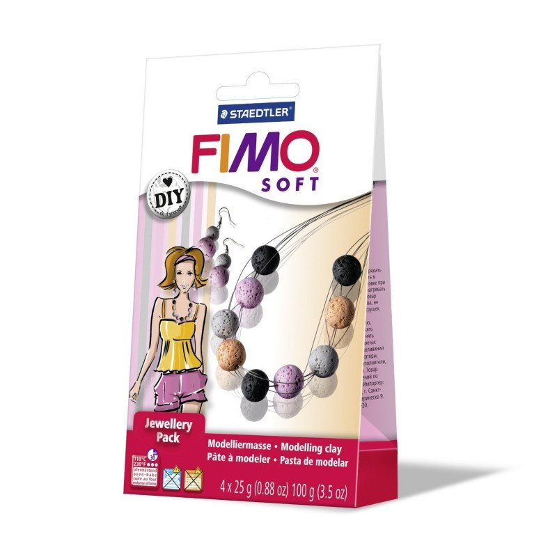 FIMO Soft DIY Jewellery Pack