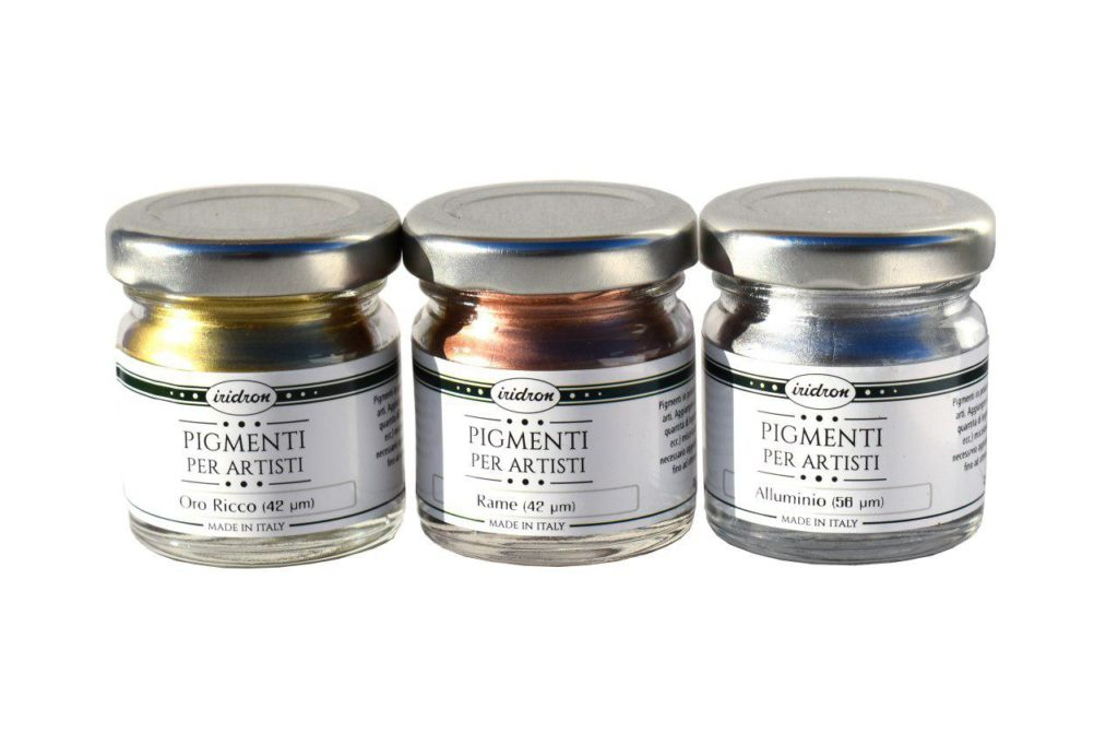 KIT 3 Pigmenti Metallici