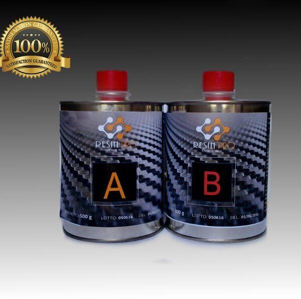 Resina per fibra di carbonio/vetro 775 gr