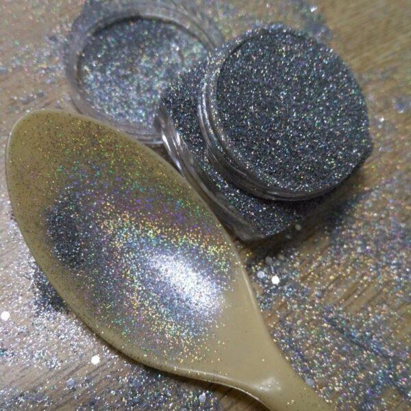 Glitter Argento Olografico