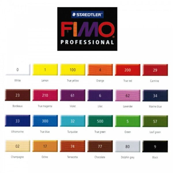 FIMO PROFESSIONAL Polymer Clay 85g