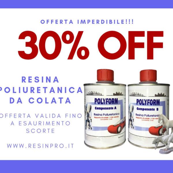 POLYFORM RESINA POLIURETANICA GR 500