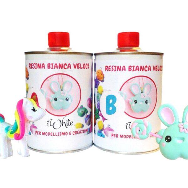 IWHITE RESINA BIANCA VELOCE GR 500