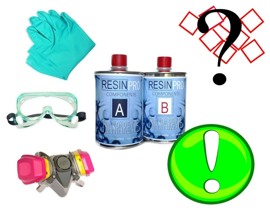 CREARE CON LA RESINA EPOSSIDICA: Precauzioni e buonsenso.