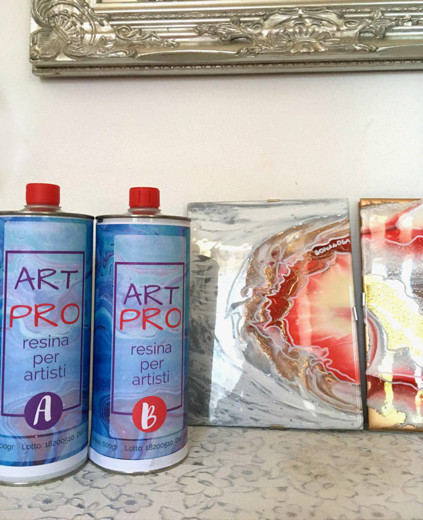 ART PRO Resina epossidica trasparente alta viscosità 1.6 KG