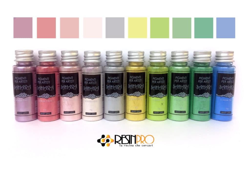 Set SAHARA PASTELLO Pigmenti Pearline