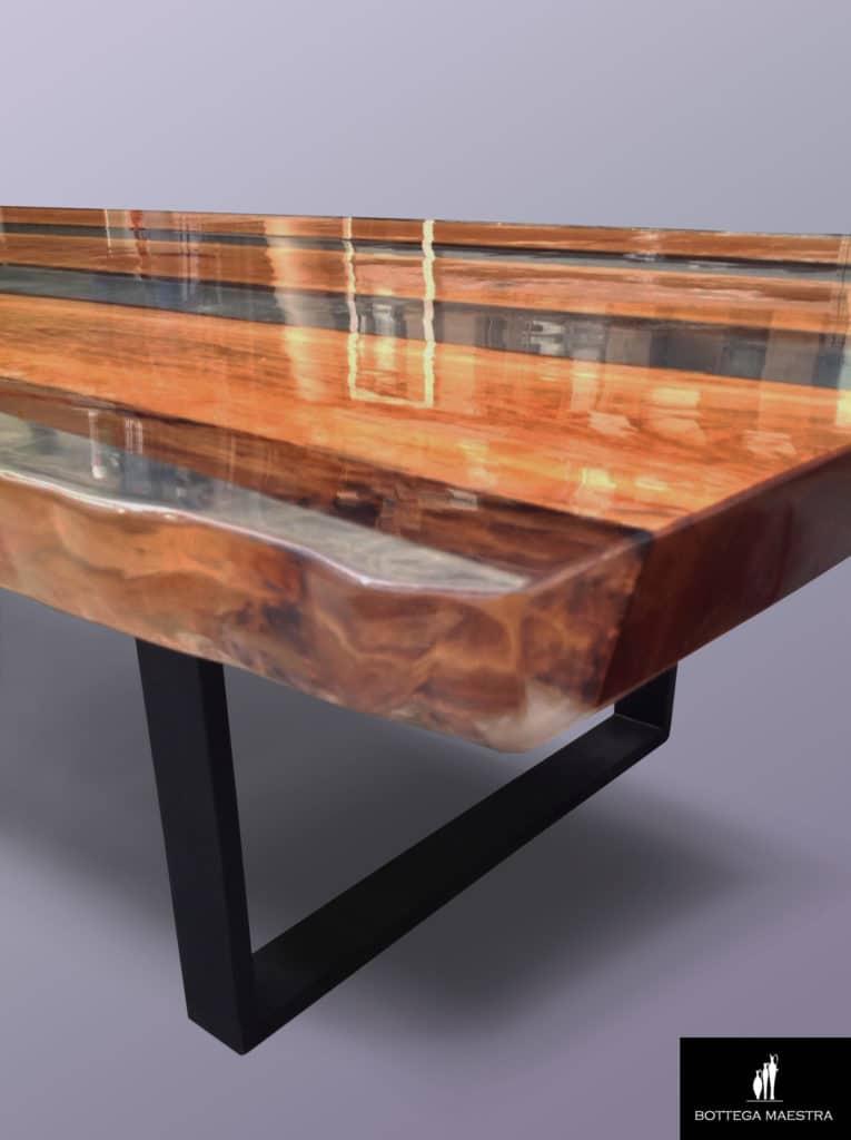 Tavolo Grande Legno.Come Costruire Un Tavolo Grande Con Legno E Resina