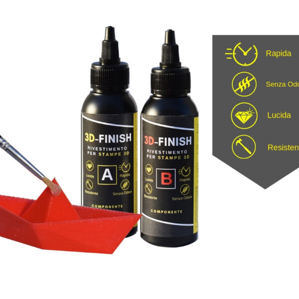"3D – FINISH ""Fast"" Rivestimento per STAMPE 3D 150 ML"