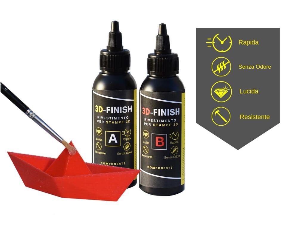 "3D – FINISH ""Fast"" Rivestimento per STAMPE 3D 150 ML"