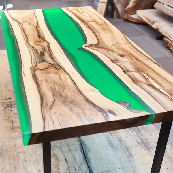Kit completo per tavoli in legno e resina trasparente atossica