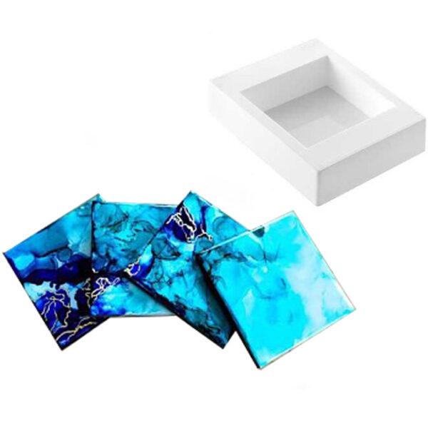 Stampo professionale in silicone rettangolare Sottobicchieri