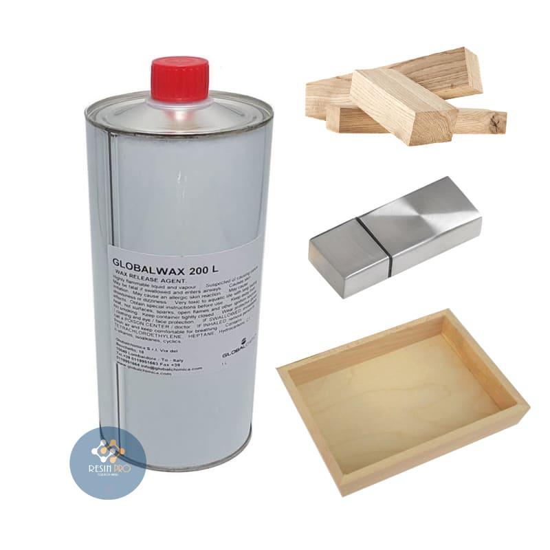 Cera Distaccante Global Wax (liquido) 200Lper Resine Epossidiche, Poliuretaniche ed Acriliche