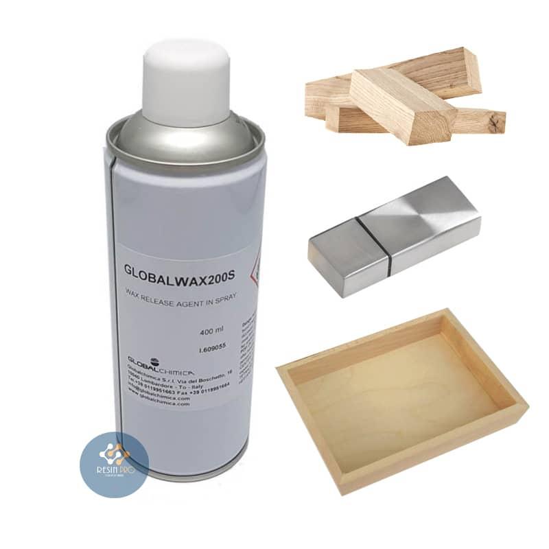 Distaccante Global Wax (spray) 200Sper Resine Epossidiche, Poliuretaniche ed Acriliche