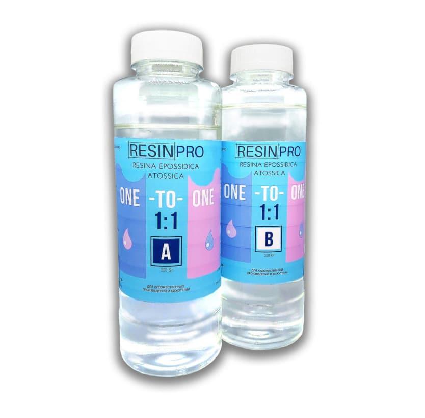 Resina Trasparente Atossica ONE-TO-ONE 1:1 GR 500