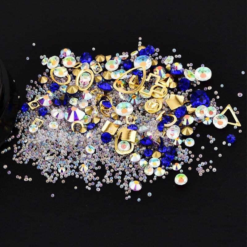 Kit 3 Glitter The Lost Treasure Colori assortiti