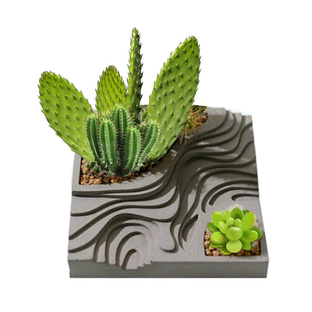 Stampo Vaso di fiori, Portagioie Rettangolare