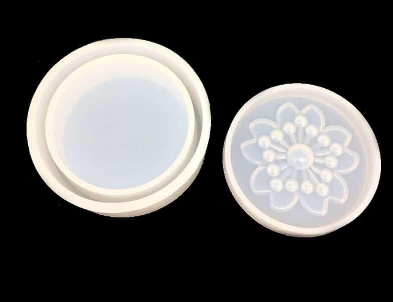 Stampo in silicone scatolina con coperchio