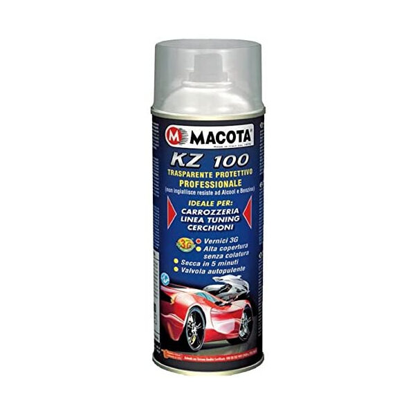 Trasparente Protettivo KZ100 spray Lucido Monocomponente (Multiuso) 400 ML