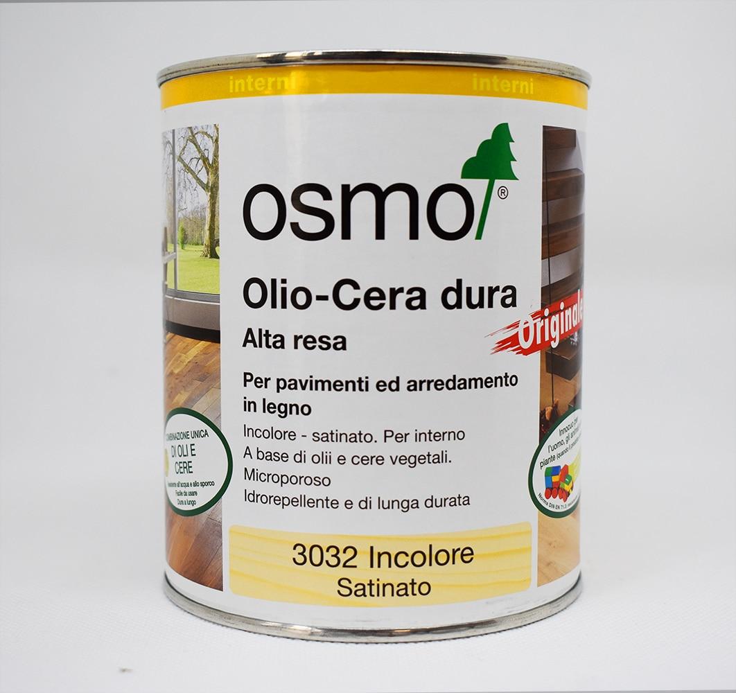OSMO OLIO-CERA DURA FINITURA SATINATA