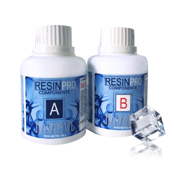 Resina epossidica trasparente Atossica 160 gr