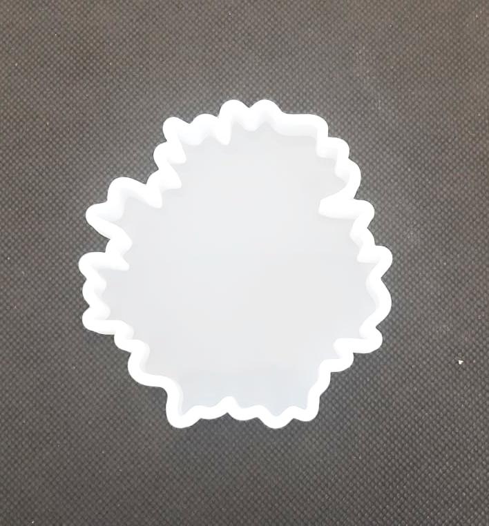 Stampo in silicone Sottobicchiere Foglia d'acero