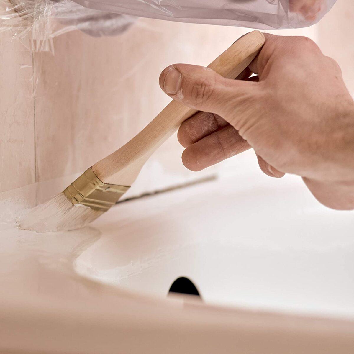 Smalto Epossidico Trasparente lucido Nuova ceramica