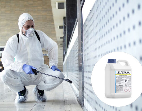 Detergente Igienizzante Sanificante A BASE DI CLORO ATTIVO AL 2,2% - 5 kg