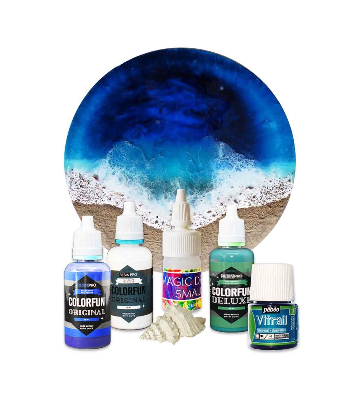 "NEW! Kit pigmenti ""Ocean Art"""
