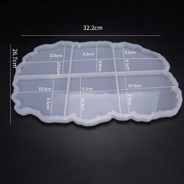 Stampo in silicone 6 Sottobicchieri