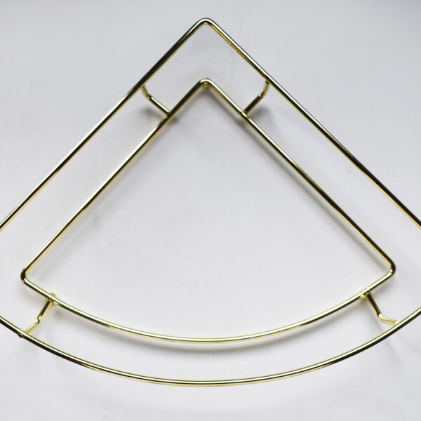 Supporto in metallo angolo per vassoio