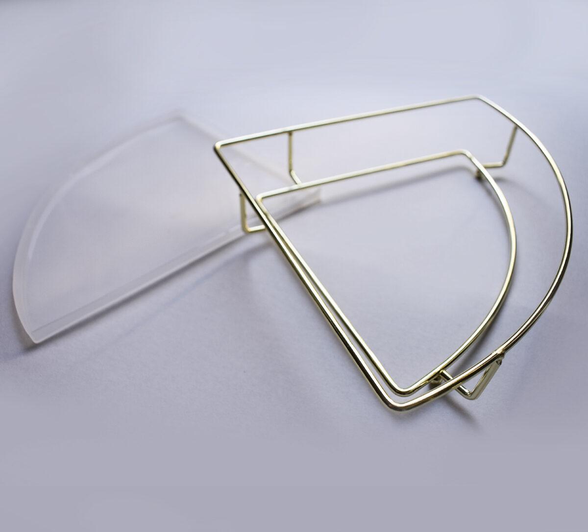 Combo Stampo in silicone + Supporto in metallo Vassoio Angolo