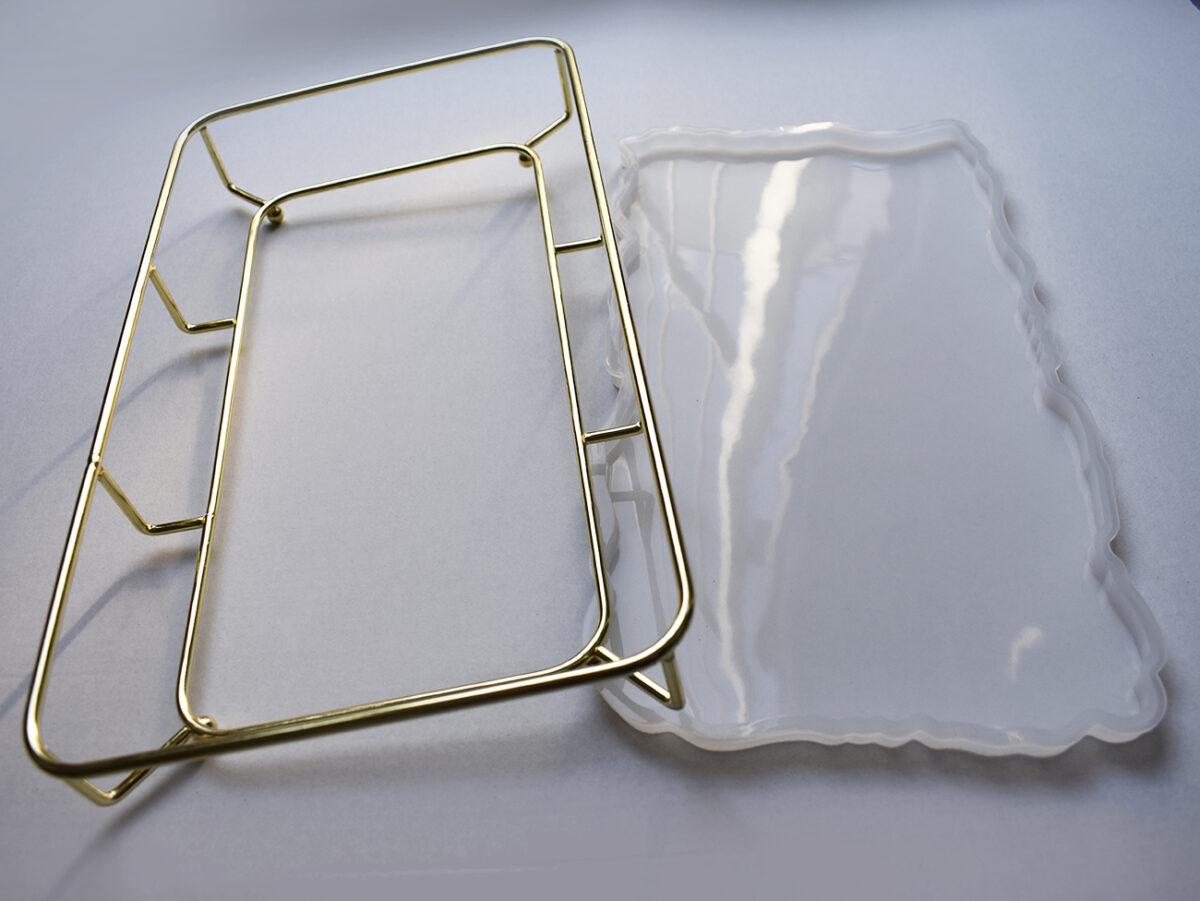 Combo Stampo in silicone + Supporto Vassoio Rettangolare