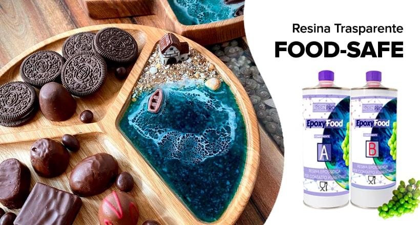 FOOD-SAFE                         Resina Trasparente